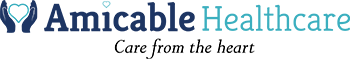 Amicable Healthcare Sticky Logo